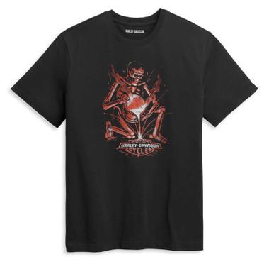 Harley-Davidson Men's Forged H-D Cotton Graphic T-Shirt - Black 96440-21VM - Wisconsin Harley-Davidson