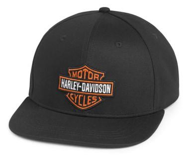Harley-Davidson Men's Bar & Shield Adjustable Baseball Cap, Black 97699-21VM - Wisconsin Harley-Davidson