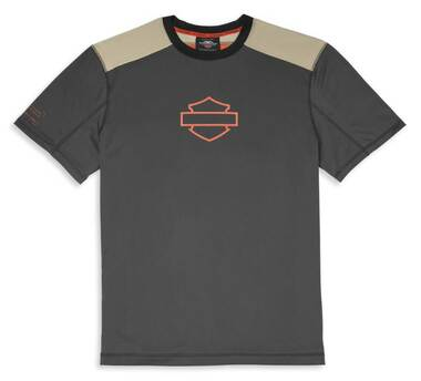 Harley-Davidson Men's Performance CoolCore Short Sleeve Shirt - Black 96057-22VM - Wisconsin Harley-Davidson