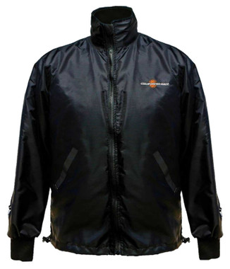 California Heat 12V Heated Wind Resistant / Water Repellent Jacket Liner - Black - Wisconsin Harley-Davidson