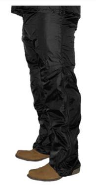 California Heat 12V Heated Wind Resistant / Water Repellent Pant Liner - Black - Wisconsin Harley-Davidson