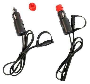 California Heat 12V Accessory & BMW Two-Way Plug for Heated Gear - Max 15 amps - Wisconsin Harley-Davidson
