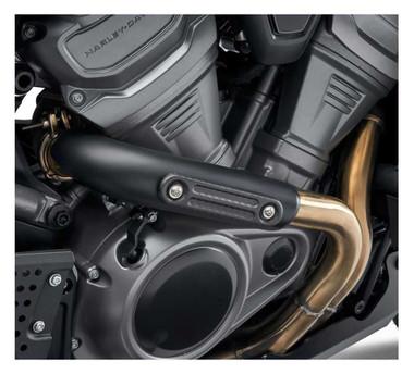 Harley-Davidson Screamin' Eagle Exhaust Shield Insert - Carbon Fiber 65400648 - Wisconsin Harley-Davidson