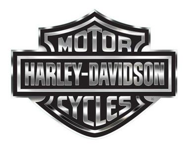 Harley-Davidson Bar & Shield Logo Decal, X-Large 30 x 40 In, Gray & Black CG4330 - Wisconsin Harley-Davidson
