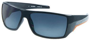 Harley-Davidson Men's Sun Black Orange stripe w/Grey Lens Sunglasses HDS571BLK-3 - Wisconsin Harley-Davidson
