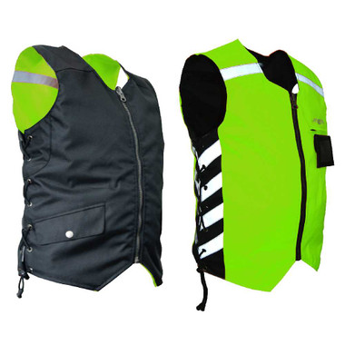 Missing Link Men's Military Duty Reversible Safety Vest - Green MDVG - Wisconsin Harley-Davidson