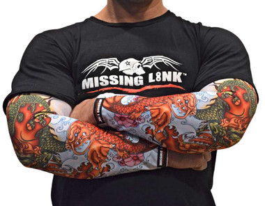 Missing Link SPF 50 Don't Be Koi ArmPro Compression Sleeves APDC - Wisconsin Harley-Davidson