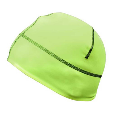 Missing Link Hi-Vis Reversible GasCap Beanie Hat Green/Black GCR - Wisconsin Harley-Davidson