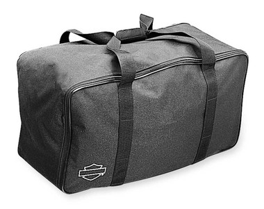 Harley-Davidson Bar & Shield Zippered King Tour-Pak Travel Bag Black 53605-97 - Wisconsin Harley-Davidson