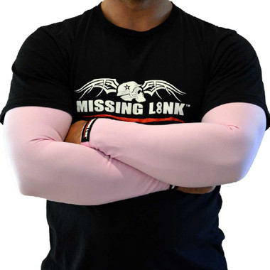 Missing Link ArmPro Pink Compression Sleeves SPF 50 - APPNK - Wisconsin Harley-Davidson