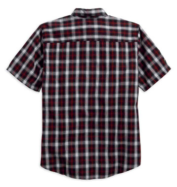 Harley-Davidson Men's Genuine Classics #1 Plaid Shirt Short Sleeve. 99011-16VM - Wisconsin Harley-Davidson