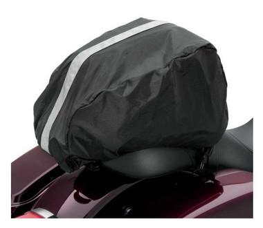 Harley-Davidson Bar & Shield Zippered Tail Bag Reflective Piping Black 93300069A - Wisconsin Harley-Davidson