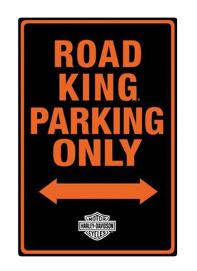 Harley-Davidson Embossed Road King Motorcycle Packing Only Tin Sign 2011011 - Wisconsin Harley-Davidson