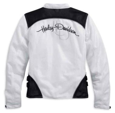 Harley-Davidson Women's Mesh Riding Jacket, Callahan Bar & Shield 98092-15VW - Wisconsin Harley-Davidson