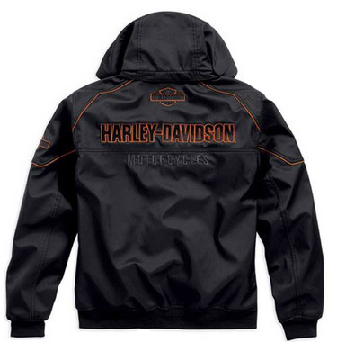 Harley-Davidson Men's Idyll Performance Soft Shell Jacket, Black. 98555-15VM - Wisconsin Harley-Davidson