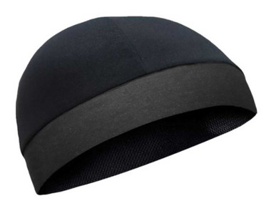 That's A Wrap Unisex Performance CoolMax Cool Cap, Solid Black CMCC11 - Wisconsin Harley-Davidson