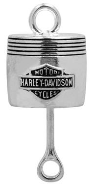 Harley-Davidson Bar & Shield Piston Silver Ride Bell HRB022 - Wisconsin Harley-Davidson