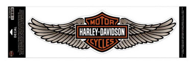 Harley-Davidson Straight Wing Decal Tan 5XL Size Sticker DC339129 - Wisconsin Harley-Davidson