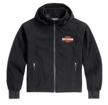 Harley-Davidson Men's Roadway Waterproof Fleece Riding Jacket 98235-13VM - Wisconsin Harley-Davidson