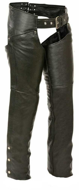 Leather King Women's Chaps w/ Hip Pockets SH1173 - Wisconsin Harley-Davidson