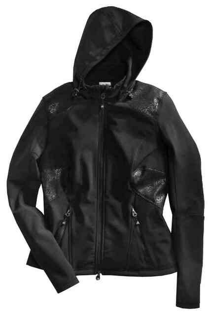 Harley-Davidson Women's Dark Roads Soft Shell Casual Jacket, Black 97553-16VW - Wisconsin Harley-Davidson
