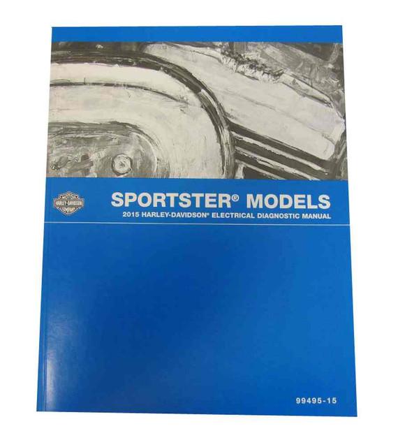 Harley-Davidson 2008 Sportster Models Electrical Diagnostic Manual 99495-08A - Wisconsin Harley-Davidson