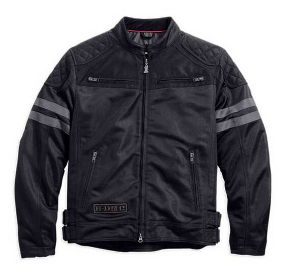 Harley-Davidson Men's Excam Warrior Mesh Riding Jacket 98556-14VM - Wisconsin Harley-Davidson