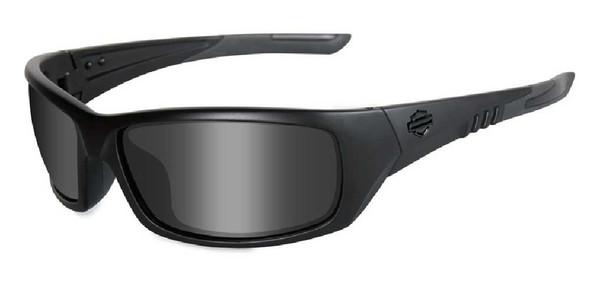 Harley-Davidson Grit Smoke Lens w/ Matte Black Frame HDGRI01 - Wisconsin Harley-Davidson
