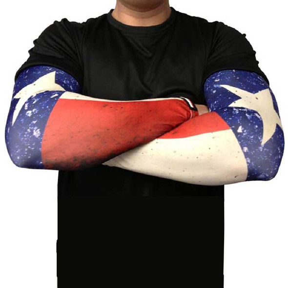 Missing Link SPF 50 Republic of Texas ArmPro Tattoo Compression Sleeves - APROT - Wisconsin Harley-Davidson