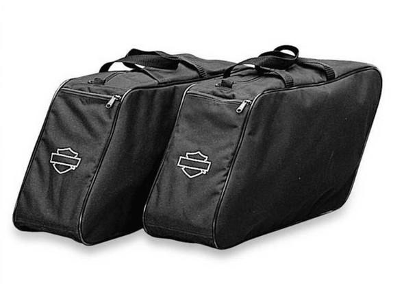 Harley-Davidson B&S Zippered Travel Pack For Hard Saddlebags, Set of 2 91885-97A - Wisconsin Harley-Davidson