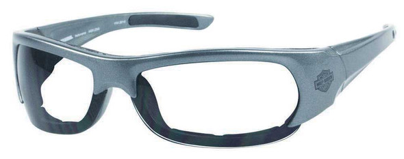 Harley-Davidson Men's Performance Spoiler Sunglasses SIL/Clear Lens HDSZ701SI-22 - Wisconsin Harley-Davidson