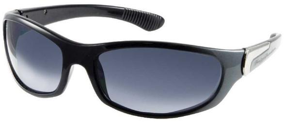 Harley-Davidson Men's Sun Kickstart Sunglasses Black/Gray Frame HDV005BLKGRY-3 - Wisconsin Harley-Davidson