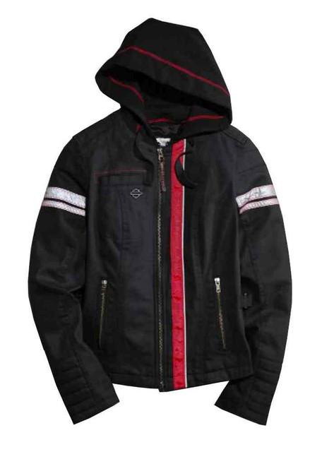 Harley-Davidson Women's Functional Jacket, Riveting Riding, Black 97456-15VW - Wisconsin Harley-Davidson