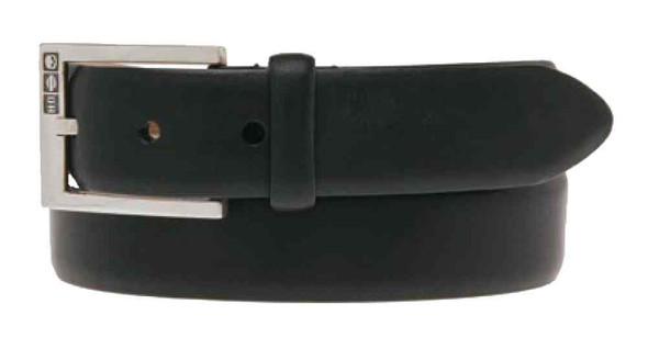 Harley-Davidson Men's All Business Leather Belt, Black Leather HDMBT10925-BLK - Wisconsin Harley-Davidson