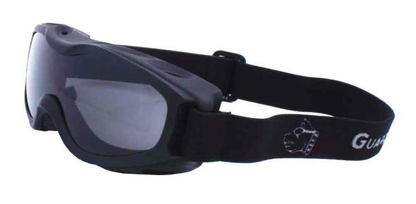 Guard-Dogs Evader II Motorcycle Airsoft Goggles Smoke Lens Matte Black 055-12-01 - Wisconsin Harley-Davidson