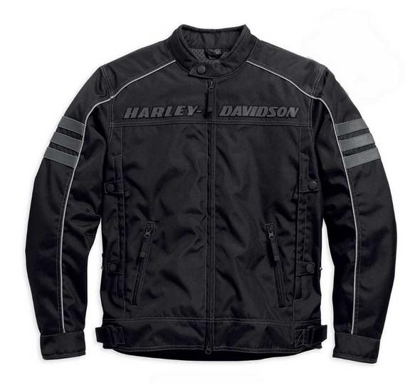 Harley-Davidson Men's Functional Jacket, Street Canon Riding Black 98084-15VM - Wisconsin Harley-Davidson