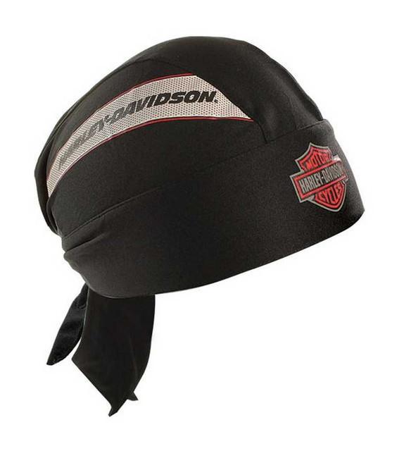 Harley-Davidson Men's Head Wrap, H-D Tank Bar & Shield, Moisture Wicking HW04730 - Wisconsin Harley-Davidson