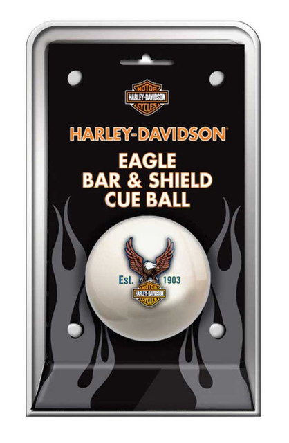 Harley-Davidson Bar & Shield Eagle Cue Ball HDL-11149 - Wisconsin Harley-Davidson