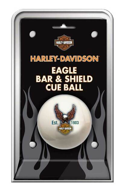 Harley-Davidson Bar & Shield Eagle Cue Ball HDL-11149 - Wisconsin Harley-Davidson