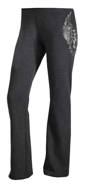 Harley-Davidson Women's Beaded Metallic Winged H-D Activewear Pants 96150-16VW - Wisconsin Harley-Davidson