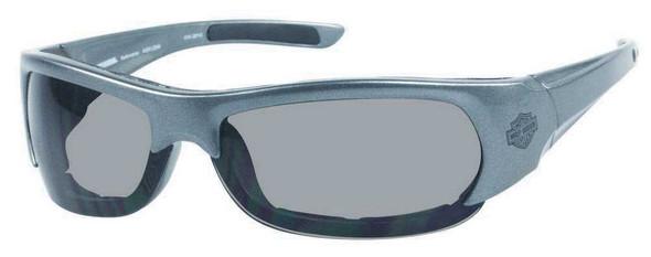 Harley-Davidson Men's Performance Spoiler Sunglasses SIL/Gray Lens HDSZ701SI-3 - Wisconsin Harley-Davidson