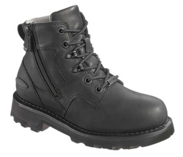 Harley-Davidson Women's Jenell 5-Inch Black Leather Motorcycle Boots D87031 - Wisconsin Harley-Davidson