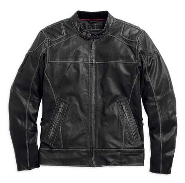 Harley-Davidson Men's Lone Star Leather Jacket 98075-14VM - Wisconsin Harley-Davidson