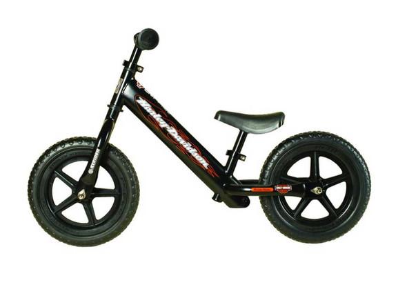Harley-Davidson Strider Bike, Boys Youth Black No Pedal Balance Bike ST-SC4HD-BK - Wisconsin Harley-Davidson