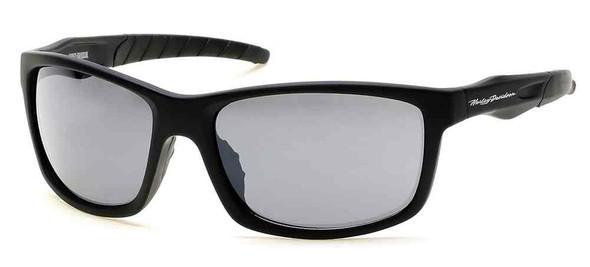 Harley-Davidson Men's Lifestyle Sunglasses, Black Frames & Silver Flash Lens - Wisconsin Harley-Davidson