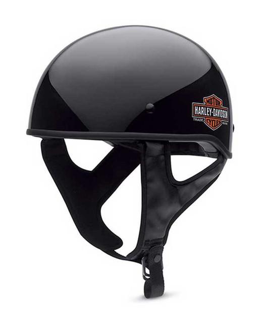 Harley-Davidson Men's Half Helmet, Low Profile Bar & Shield Gloss 98334-15VM - Wisconsin Harley-Davidson