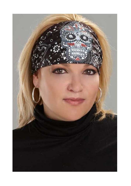 That's A Wrap Women's Premium Knotty Band, Embellished Eye Candy, Black KB1535 - Wisconsin Harley-Davidson