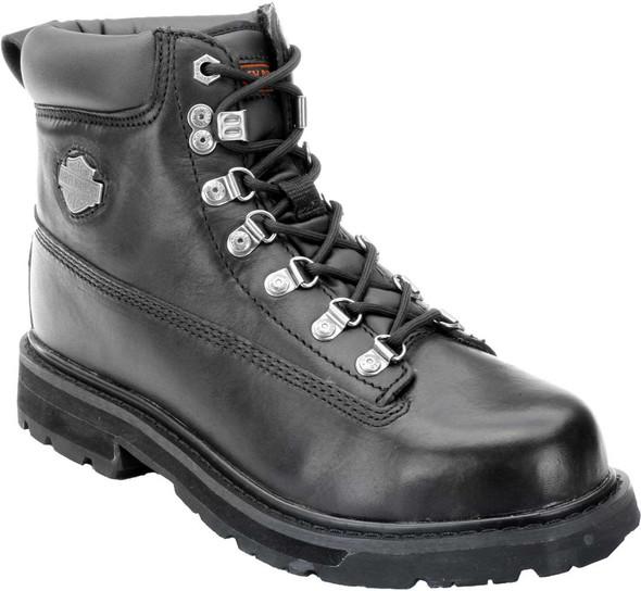 Harley-Davidson Men's Drive Motorcycle Steel Toe Black Boots D91144 - Wisconsin Harley-Davidson