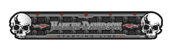 Harley-Davidson Darts Throwing Line, Skull H-D Script Durable Line, Black 61953 - Wisconsin Harley-Davidson