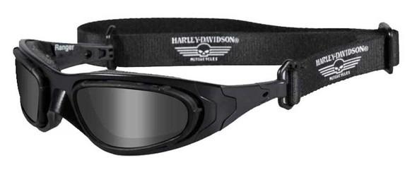 Harley-Davidson Ranger Clear & Smoke Gray 2 Pack Lens Sunglasses Goggle HDRAN01 - Wisconsin Harley-Davidson